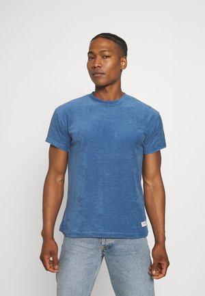 BREEZE TOWELLING REGULAR - T-shirt - bas - blue