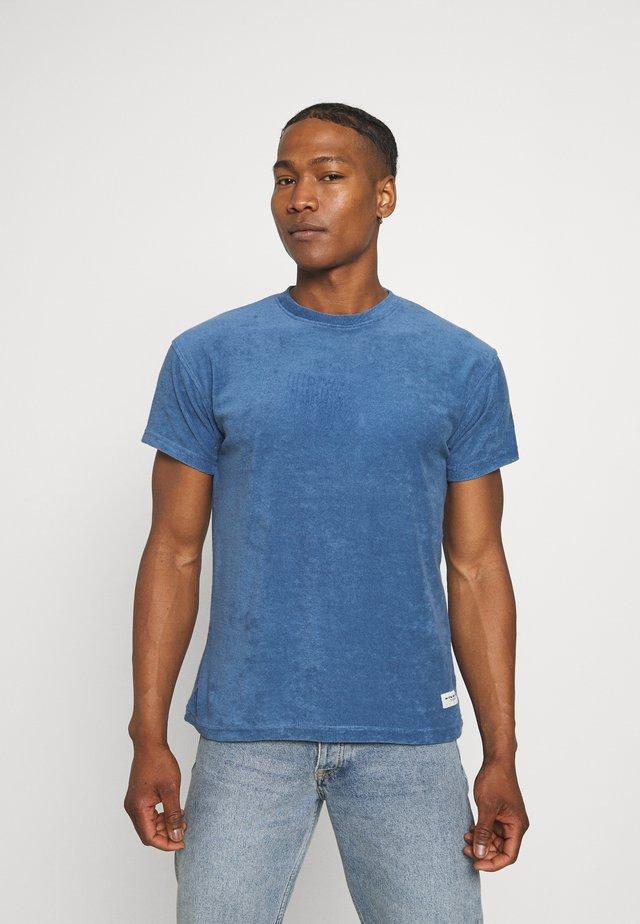 BREEZE TOWELLING REGULAR - T-shirt basique - blue