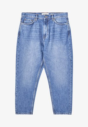 Jean boyfriend - mottled blue