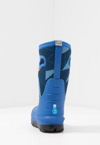 Bogs - CLASSIC BIG GEO - Winter boots - blue/multicolor - 3