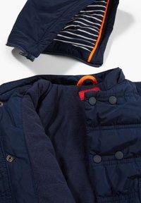 s.Oliver - MIT KONTRAST-DETAILS - Winter jacket - dark blue - 2