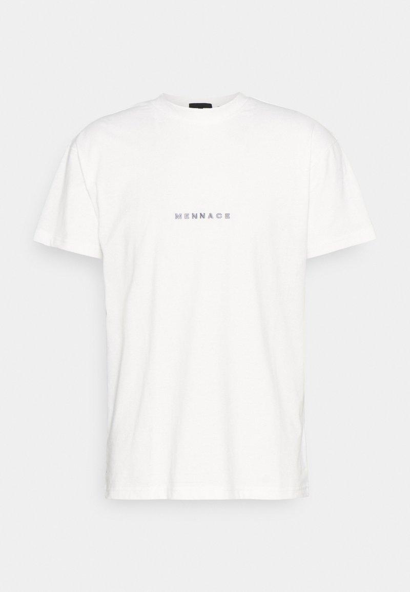 Mennace - ESSENTIAL REGULAR SHIRT UNISEX - Basic T-shirt - white