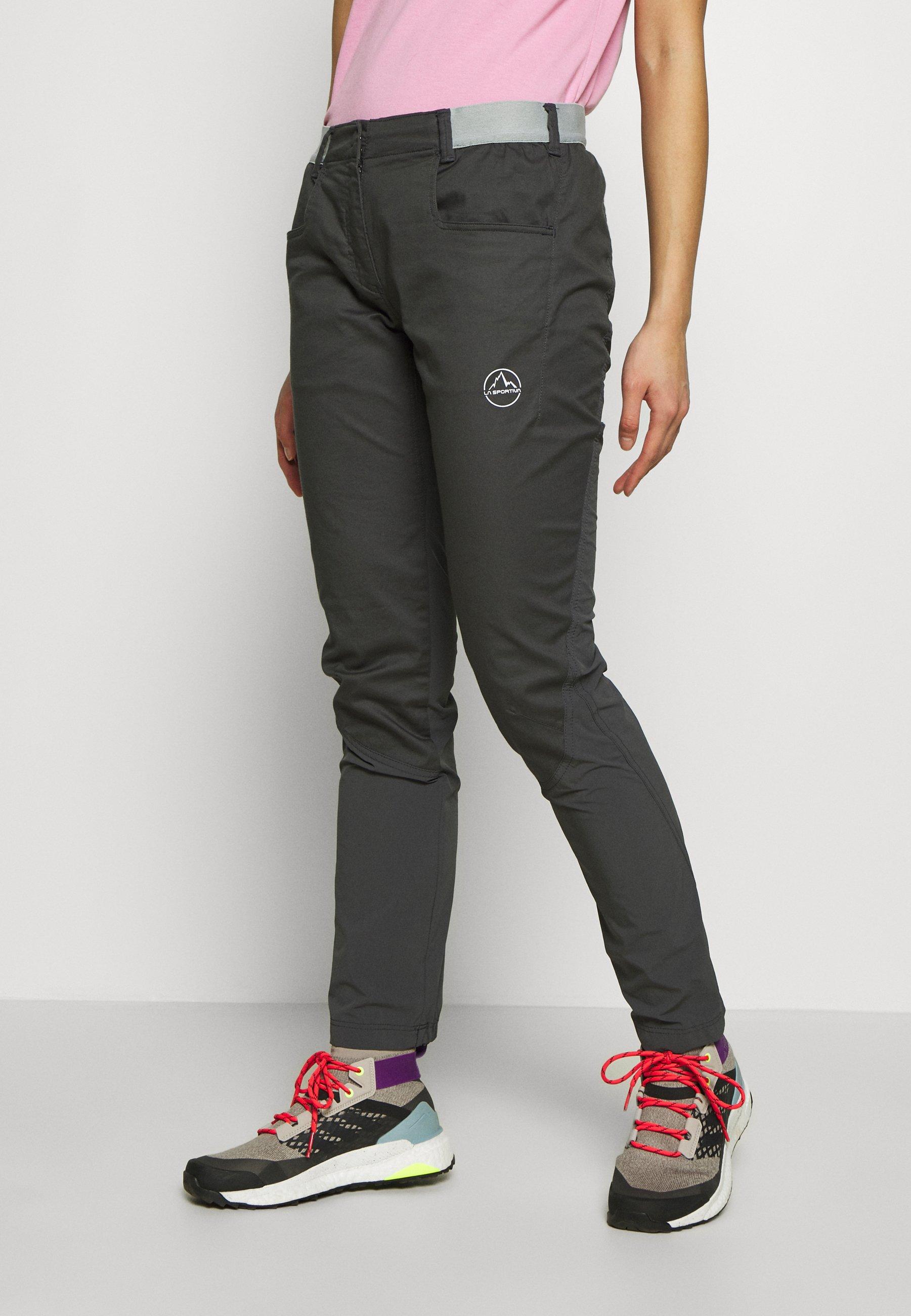 PETRA PANT Bukse carbon