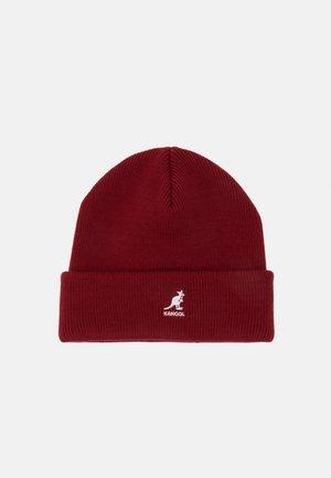 CUFF PULL ON UNISEX - Bonnet - red velvet