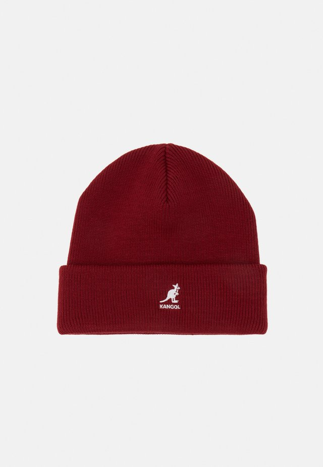 CUFF PULL ON UNISEX - Beanie - red velvet