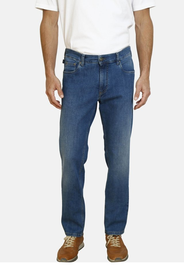 LOAN - Straight leg jeans - blue