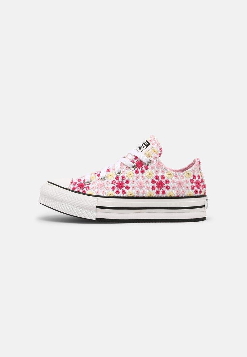 Converse - CHUCK TAYLOR ALL STAR EVA LIFT OX UNISEX - Zapatillas - white/pink/black