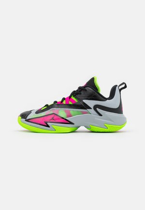 ONE TAKE 3 - Chaussures de basket - wolf grey/pink prime/electric green