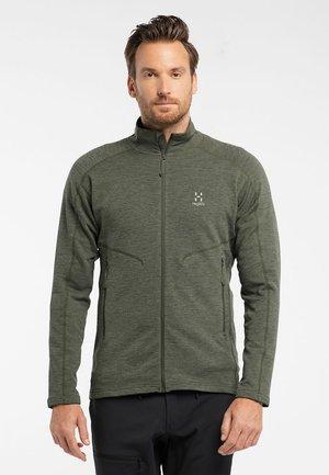 HERON JACKET MEN - Fleece jacket - deep woods solid