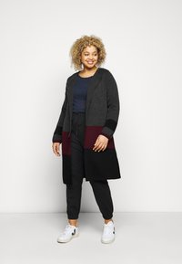 Evans - COLOURBLOCK COATIGAN - Cardigan - multi - 1