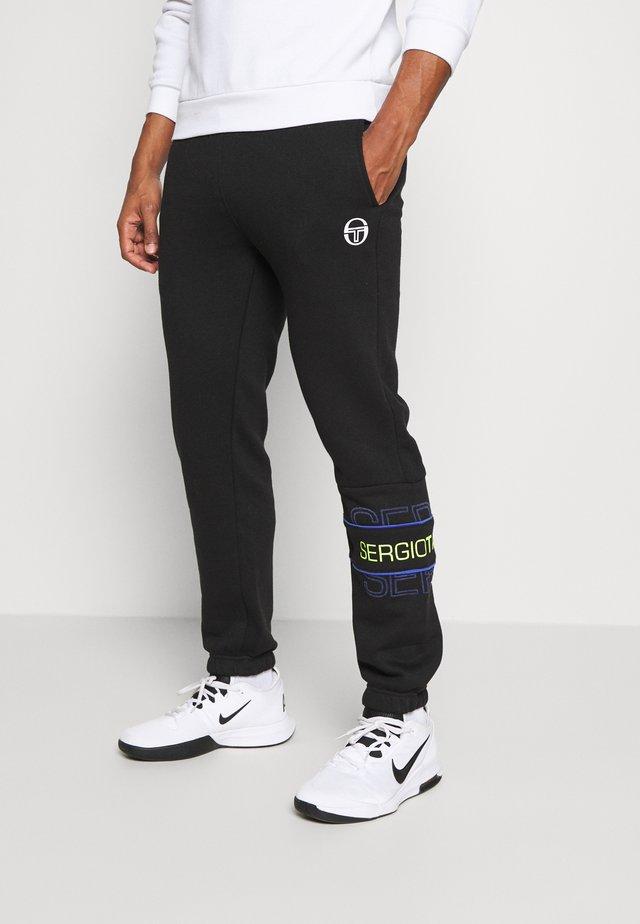 BLINK PANTS - Pantalon de survêtement - black/dazzlingblue