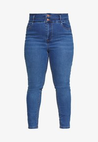 New Look Curves - LIFT SHAPE  - Jeans Skinny Fit - mid blue - 3