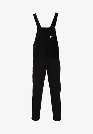 W BIB OVERALL HURON - Overall /Buksedragter - black rinsed