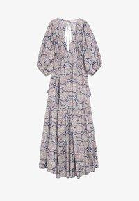 Mango - Długa sukienka - bleu - 4
