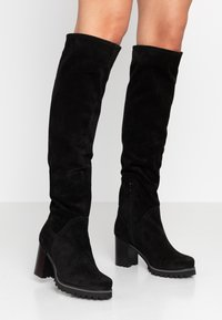 Weekend by Pedro Miralles - Botas mosqueteras - nero - 0