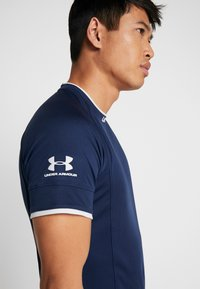 Under Armour - CHALLENGER TRAINING  - T-shirts print - dark blue - 3