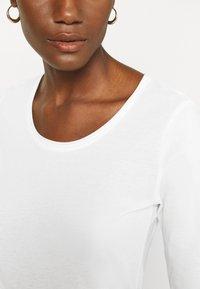 s.Oliver - Long sleeved top - ecru - 6