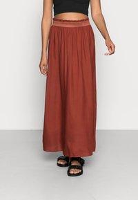 ONLY - Falda plisada - henna - 0