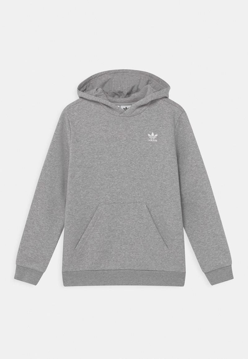 adidas Originals - HOODIE - Hoodie - medium grey heather/white