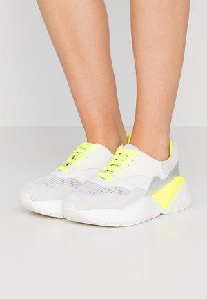 Sneakersy niskie - ottico/giallo fluo
