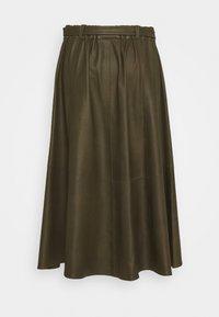 DEPECHE - A SKIRT BELT - Áčková sukně - green - 1
