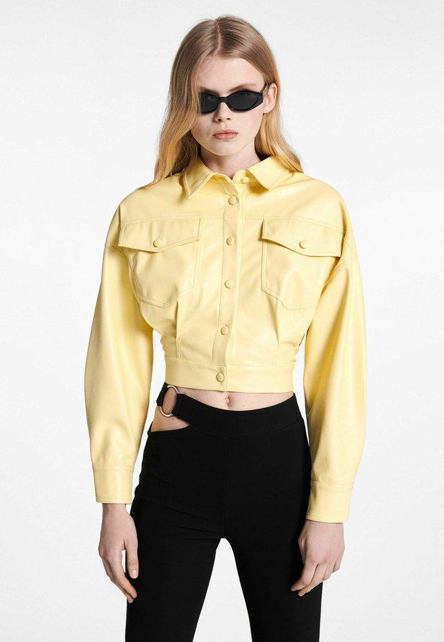 Veste légère - yellow