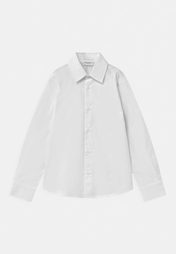 ALL OVER LOGO - Shirt - bianco