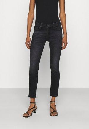 PYPER CROP SLIILLUPB - Jeans Skinny Fit - black