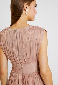 Anaya with love Maternity - GATHERED V FRONT MIDI DRESS - Vestido de fiesta - pearl blush - 4