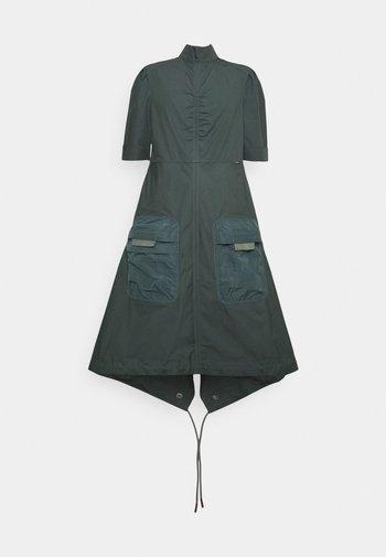 FISHTAIL DRESS - Day dress - graphite