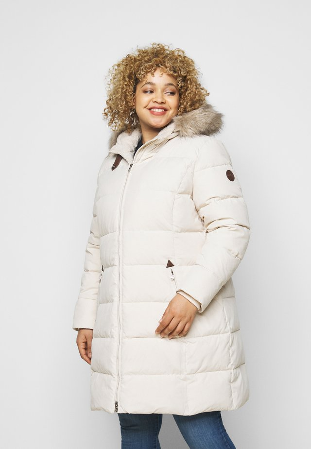 Down coat - moda cream