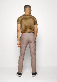 Springfield - PANT TEXTURAS - Kalhoty - dark brown - 2