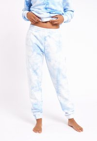 Chelsea Peers - NYC LOUNGE TIE DYE BLUE JOGGER - Tracksuit bottoms - blue - 3