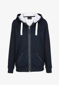 Dress In - Zip-up sweatshirt - marineblau - 3