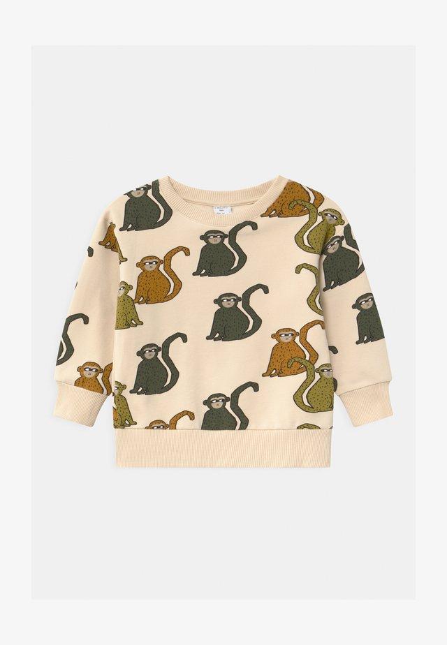 MINI PRINT MONKEY - Sweater - beige