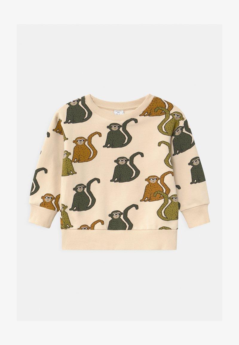 Lindex - MINI PRINT MONKEY - Sweatshirts - beige