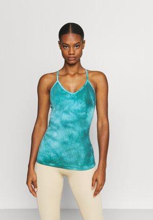 MINDFUL SEAMLESS YOGA - Top - turquoise