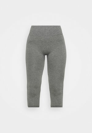 LOUNGE CROPPED PANTS - Pyjamabroek - heather grey