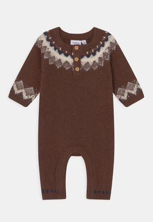 NBMOLAN - Overall / Jumpsuit - rocky road