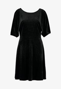 Monki - ADALIA DRESS - Vestido de cóctel - black topaz - 5