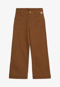 Soft Gallery - BLANCA PANTS - Tygbyxor - bone brown - 3