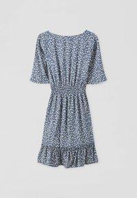 PULL&BEAR - Day dress - mottled blue - 2