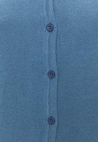 ICHI - Strikjakke /Cardigans - coronet blue - 2