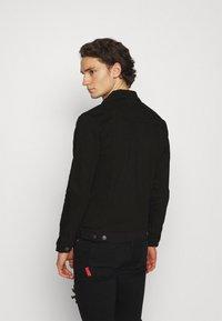 Denim Project - KASH DESTROY JACKET - Denim jacket - black - 2
