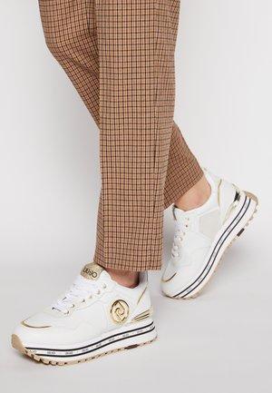 MAXI - Sneakersy niskie - white