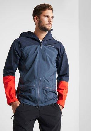 Hardshell jacket - blue steel