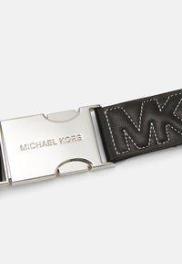 MICHAEL Michael Kors - WEBBING BELT WITH QUILTING - Belt - black - 3