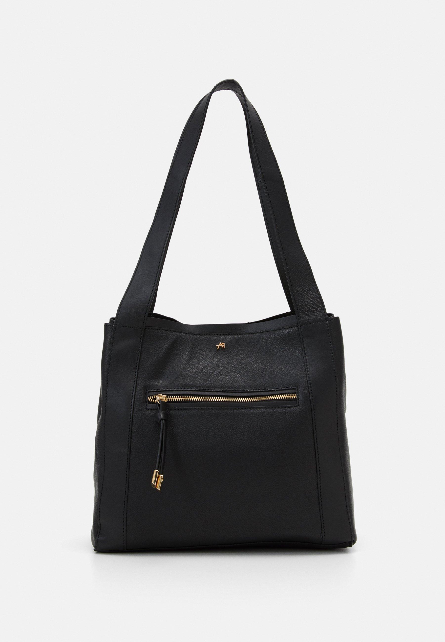 Anna Field Leather - Handtasche Black/schwarz