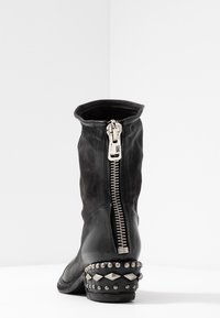A.S.98 - Cowboy/biker ankle boot - nero - 5