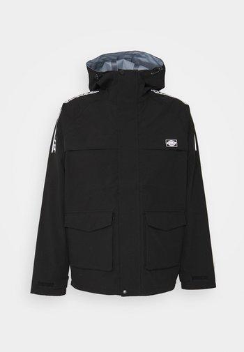 PINE VILLE - Summer jacket - black